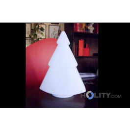 Christmas tree with bright white light h10417