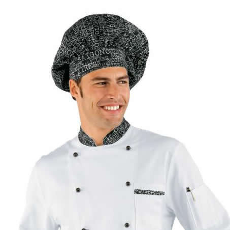 autentico alta moda sconto fino al 60% Chef Hat in cotton h6525