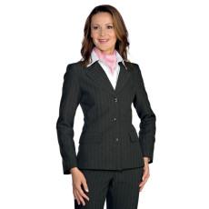 giacca-donna-foderata-profilata-gessato-atracite