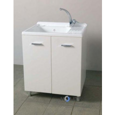 Wash basin with hot plastic and melamine h15608