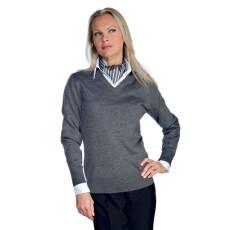 maglia-con-scollo-a-v-unisex-grigio-h6560