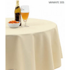 Square tablecloth in cotton and polyester h6500