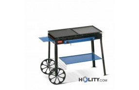 Gas Barbecue with wheels h17030