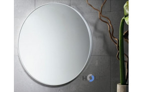 Round Mirror with frame in thermoplastic resins